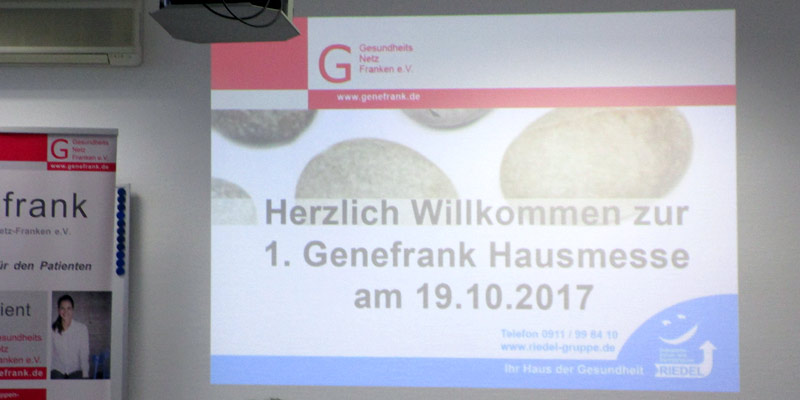 Rückblick 2017 – 1. Genefrank-Hausmesse