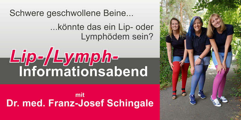 Lip-, Lymphinformationsabend